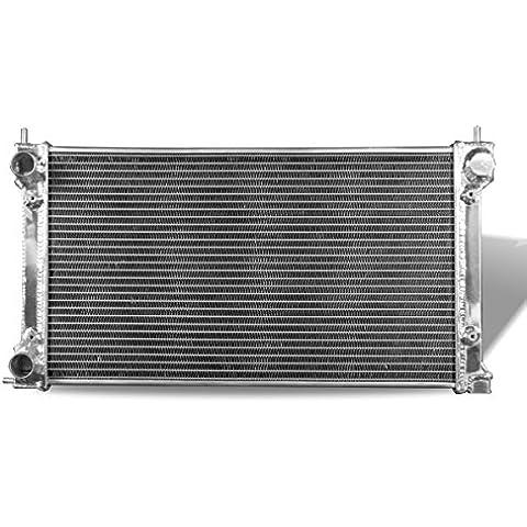 Supeedmotor Radiador para Volkswagen Scirocco/Satana/Golf MK2, 8V GTI 1,5/1.6i 1.6/1.8i Full