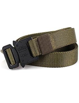 FEIKCOR Cinturón táctico de la Cinturón resistente del estilo militar 1000D Cinturones de la cintura del nylon...