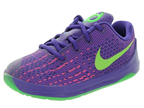 Nike Kleinkind KD 8(TD) Basketball-Schuh, violett - Crt Prpl/Grn Strk/VVD Prpl/BRG - Größe: 21,5 EU M Kleinkind (Kleinkind Nike Basketball Schuhe)