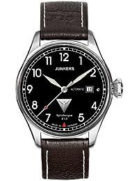 Junkers Herren-Armbanduhr XL Spitzbergen F13 Analog Automatik Leder 61642