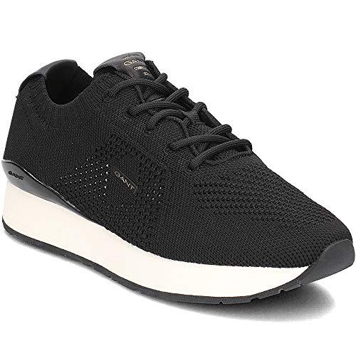 GANT Footwear Damen Linda Sneaker, Schwarz (Black G00), 36 EU