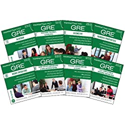 Manhattan Prep GRE Set of 8 Strategy Guides, 4th Edition