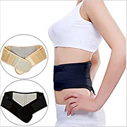 Importikah Self Heating Waist Support Belt, Magnetic Therapy Lumbar Back Pain Reliever