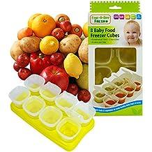 First Steps Baby Weaning food freezing Cubes vassoio vasi contenitori per freezer, senza BPA