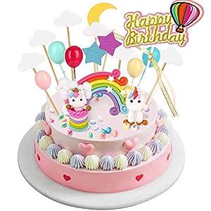 BBLIKE Decoracion Unicornio Cake con