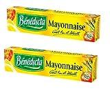 2 x Mayonnaisetyp- Französische Spezialitäten - mayonnaise nature Benedicta - 175 gr