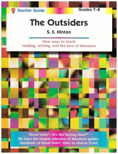 The Outsiders - Teacher Guide (Novel Units) by Novel Units, Inc. (2012) Paperback