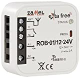 Exta Free Radio Controller, 1 pezzi, Rob top-of-rack 01/12 - 24 V