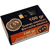 Guerrero Nº8 - Gomas elásticas, 100 unidades