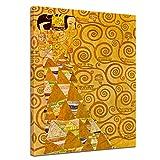 Bilderdepot24 Kunstdruck - Alte Meister - Gustav Klimt - Die Erwartung - 50x60cm einteilig - Leinwandbilder - Bild auf Leinwand