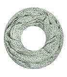 Majea super weicher Damen Loop Schal viele Farben Muster Schlauchschal Halstuch in aktuellen Trendfarben (khaki 16)