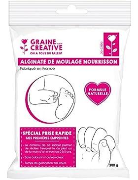 DTM - Saco de 200 g de alginato de moldeado, secado ultra rápido para niños y bebés