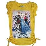 Disney Little Mädchen Gelb Frozen Zeichen Graphic Print T-Shirt 4–6x, Gelb