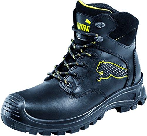 Puma Borneo Black Mid S3 HRO SRC, Puma, Chaussures de sécurité homme