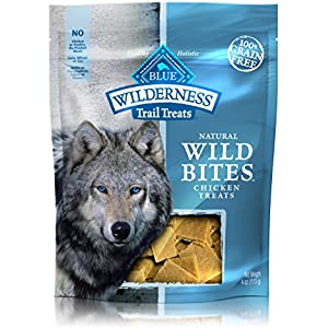 Blau Wilderness Trail Treats WILD BITES-soft-moist Hund behandelt