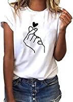 Donna Maniche Corte,Divertenti Vintage Tumblr Magliette Donna Manica Corte estive Ragazza t Shirt Donna Maglietta...