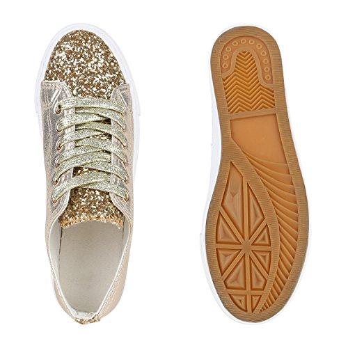 Japado , Sneakers Basses femme Or