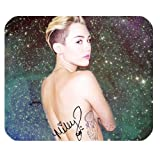 Personalized Rectangle Non-Slip Rubber Mousepad Gaming Mouse Pad / Mat- Miley Cyrus