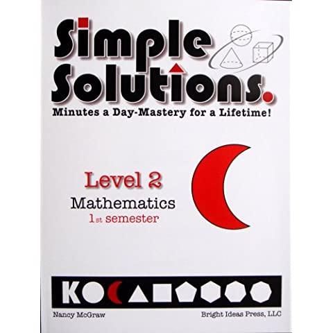 Simple Solutions. Minutes a Day-Mastery for a Lifetime! (Level 2 Mathematics ...