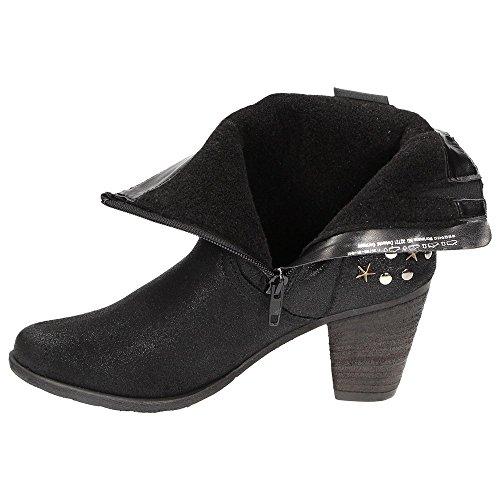 Tamaris1-25708-31 - Stivali da Motociclista Donna Nero (nero)