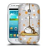 Head Case Designs Smores Rundliches Häschen Soft Gel Hülle für Samsung Galaxy S3 III Mini