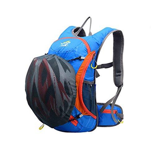 Wasserdicht Reiten Rucksack 8L Shoulders Bag Radfahren Camping Wandern Rucksack Day Pack Outdoor 404717HC Paket Blau