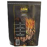 Barbec-U 10 kg Premium BBQ Holzkohlebriketts, Grillkohle, grillbereit in ca. 35 Minuten, FSC-zertifiziert, hochwertige Kohle zum Grillen