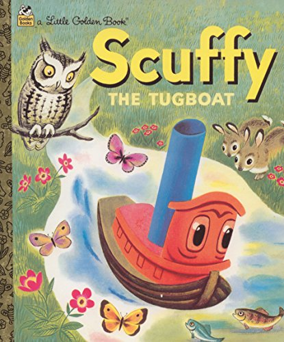 Scuffy. The Tugboat (Little Golden Books)