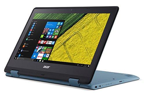 Acer Spin 1 SP111-31 11.6-Inch Convertible Notebook - (Blue) (Intel N3350 Celeron Processor, 4 GB RAM, 32 GB SDD, Windows 10)