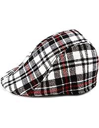 ARAUS Bonia para bebé Diseño de Cuadros Gorra de Visera Sombrero Gorra de  Béisbol ... fe0db025e74