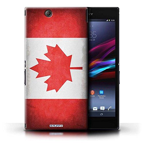 Kobalt® Imprimé Etui / Coque pour Sony Xperia Z Ultra / Suisse conception / Série Drapeau Canada/canadien