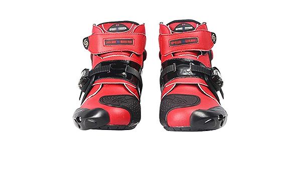 Wert Motorradstiefel Wasserdichte Touren Rüstung Schutz Motocross On Road Stiefel Bequem Short Ankle Schuhe Für Biker Roller Boots Sport Freizeit