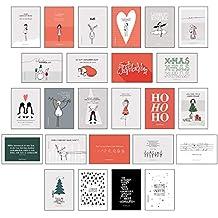 Stylische Weihnachtskarten.Suchergebnis Auf Amazon De Für Weihnachtskarten Bücher