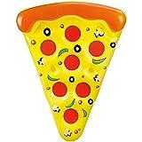 Pizza Inflable Flotador de Piscina XXL, 180 cm.