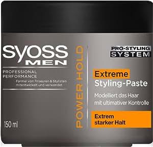 Syoss MEN Power Paste, 2er Pack (2 x 150 ml)
