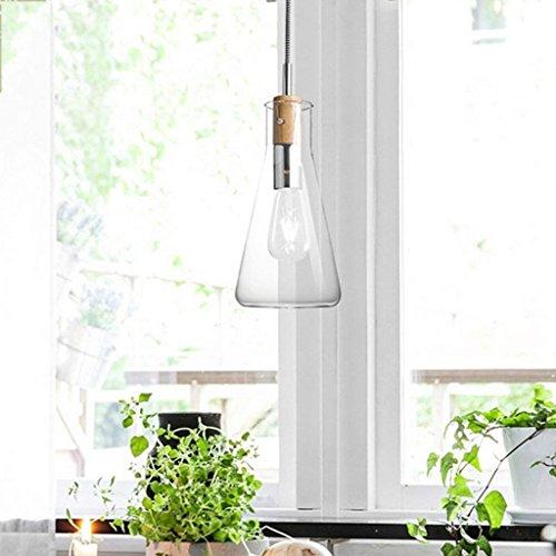 QAZ Moderne Einzel-Kopf aus Murano-glas, Zimmer Restaurant Bar Cafe balkon Lampe leuchten (Größe: A)