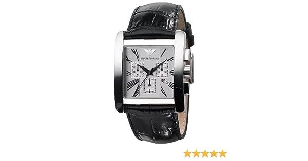 bca610ceaa3 Emporio Armani Mens Watch AR0186 Wrist Watch (Wristwatch)  Amazon.co.uk   Watches