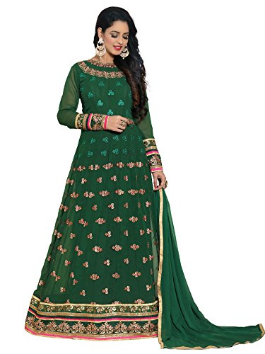 Ethnic Yard Designer Bridal Georgette Anarkali Gown