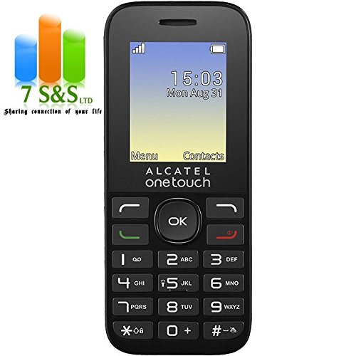 Alcatel OneTouch 10,2 g UK entsperrt Handy – Schwarz (Entsperrt One-touch-handy)