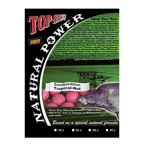 Top SecretNatural Power Boilies Sonderedition 20mm Tropical-Nut 1kg