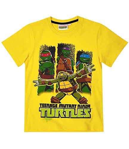 Ninja Turtles Jungen T-Shirt - gelb - (Shirt Turtles Ninja T)
