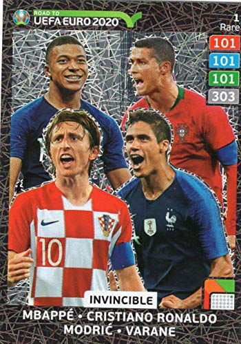 Adrenalyn XL ROAD TO EURO 2020 - INVINCIBLE TRADING CARD - RARE #1