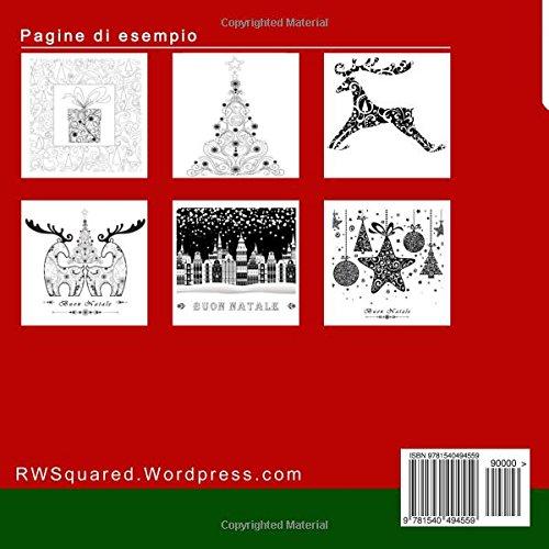 Libro Buon Natale Antistress Libro Da Colorare Per Adulti Disegni