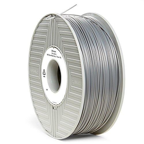 Preisvergleich Produktbild Verbatim 55016 ABS Filament, 1 kg, 1,75 mm, Silber