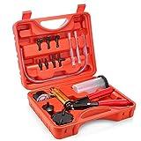 Oasislove tenuto in mano utensili per spurgo freni pompa vuoto pistola tester kit pompa aluminum body pressione vacuometro