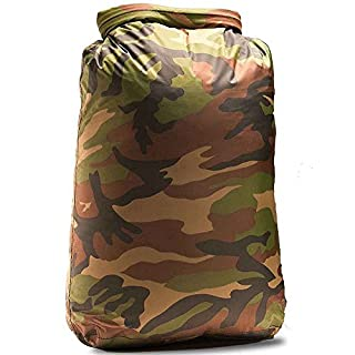 Aqua Quest Rogue Roll Top Dry Bag - 100% Waterproof - 10L - Camouflage