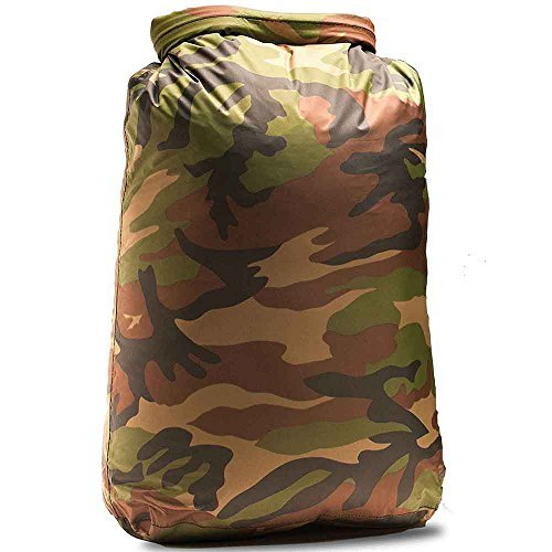 Aqua Quest ROGUE Bolsa Estanca, 100% Impermeable, Camo, 30 L