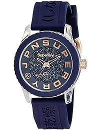 Superdry Analog Blue Dial Women's Watch - SYL174URG