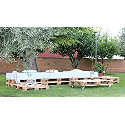 Europalet Sitzgruppe für Garten oder Terrasse, aus Paletten