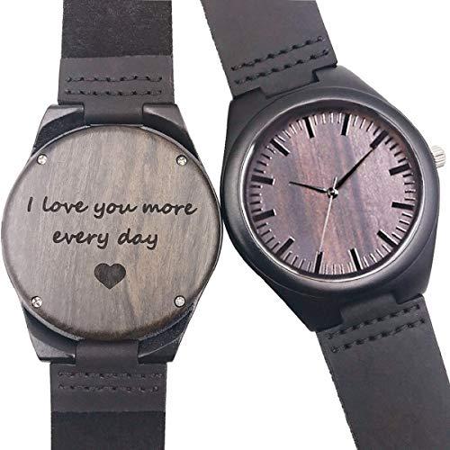 470fec1d8dea Reloj de Madera Grabado Personalizado